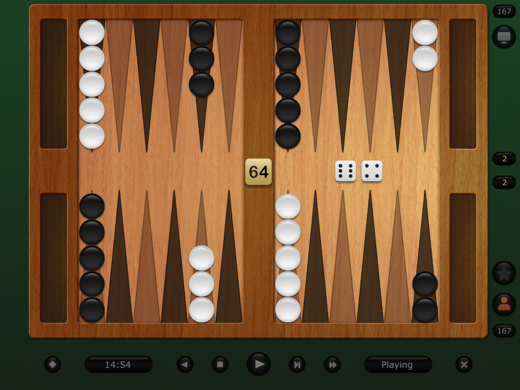 Backgammon Classic Pro Screen shot